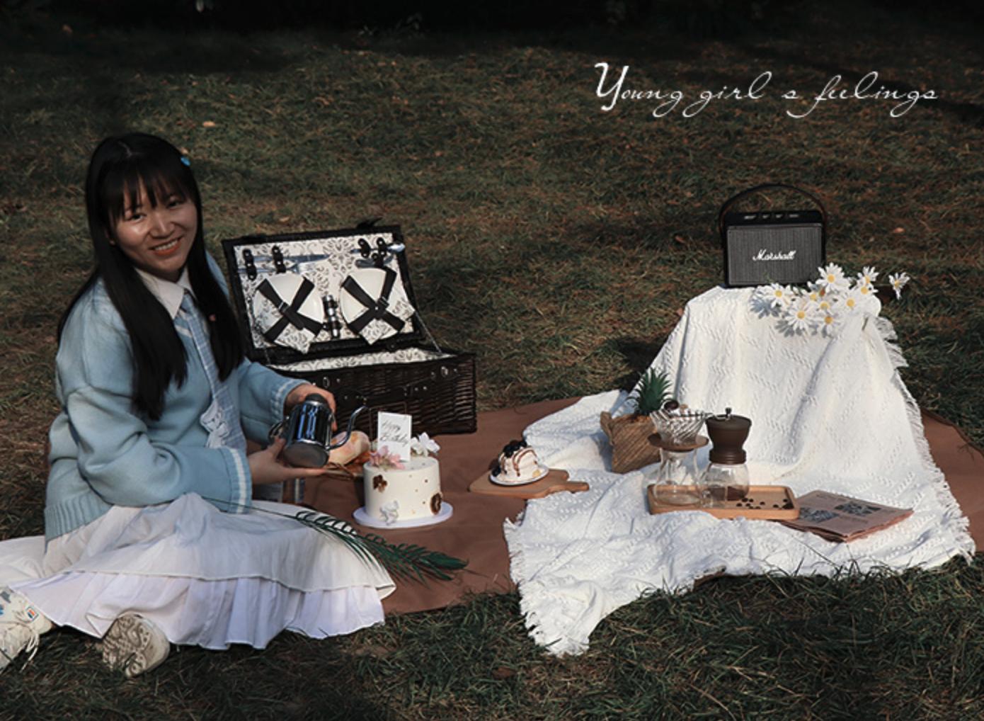 梦花园 FYC002 野餐毯