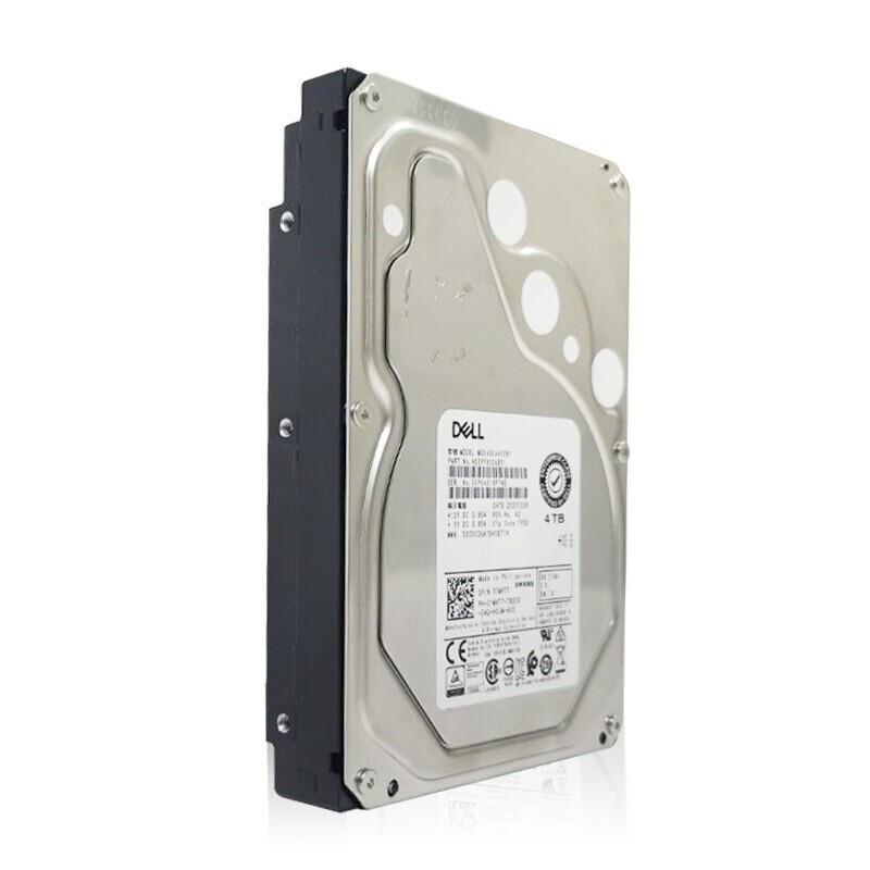 戴尔(DELL)企业级服务器工作站主机用硬盘 4T SAS 7.2K 3.5英寸