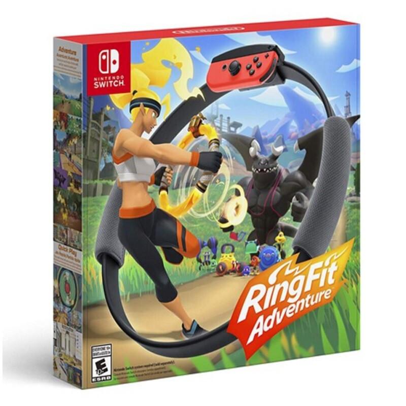 任堂 (Nintendo) Switch 游戏机 NS 健身环大冒险 帶游戏 美版中文版全新现货