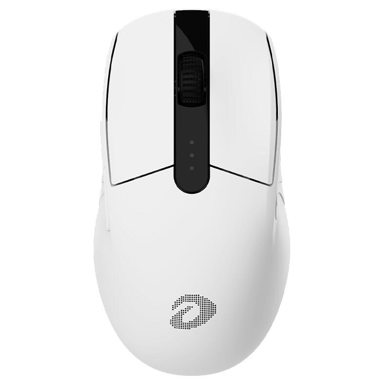 达尔优 A900三模鼠标  白色