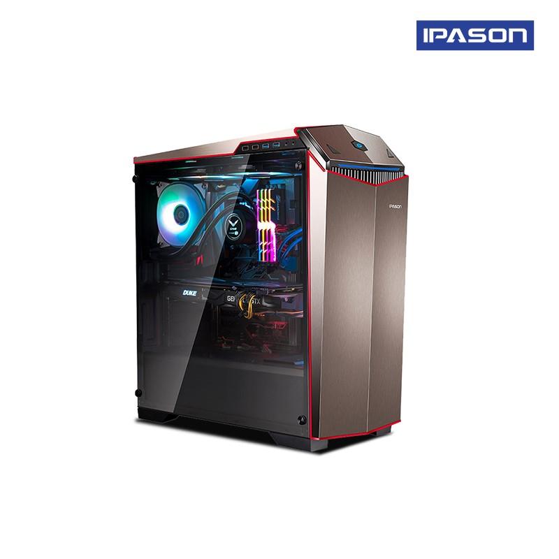 IPASON 攀升 流火 电脑主机(i5-10400F、8G、240G、GTX 1050Ti)