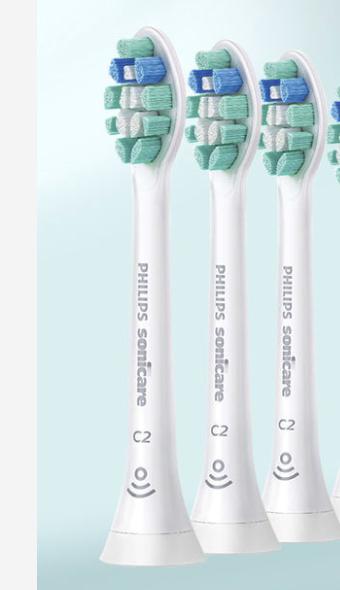 PHILIPS 飞利浦 HX9021 电动牙刷刷头 3支装 标配