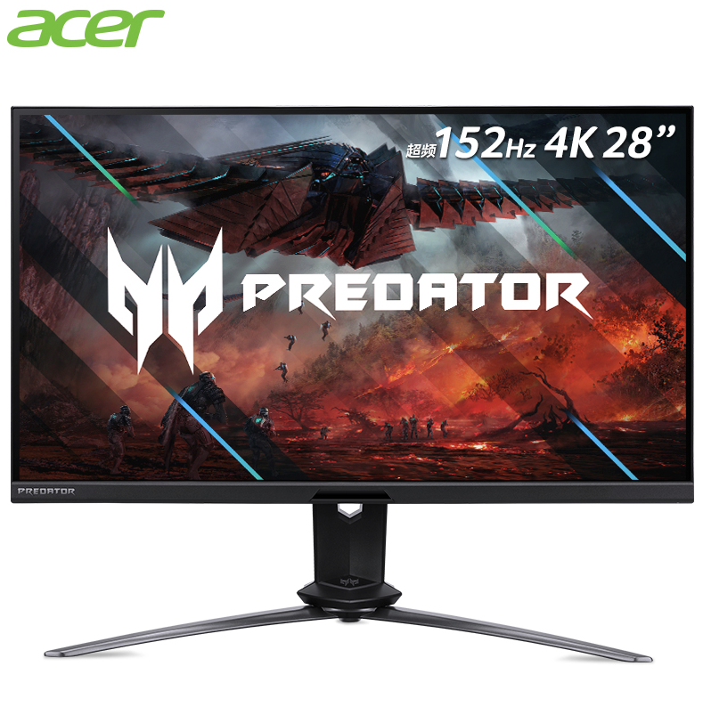 acer 宏碁 掠夺者 X28 28英寸IPS显示器(4K、152Hz、1ms)
