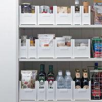 厨房橱柜收纳盒日式抽屉分类整理盒塑料盒桌面收纳筐护肤品收纳盒