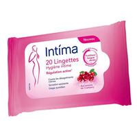 湊單品 : Intima 私處清潔濕紙巾蔓越莓香型 20抽