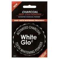 銀聯專享 : White Glo 活性炭牙齒美白粉 30g