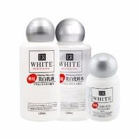 DAISO 大创 美白保湿护肤三件套(保湿水 120ml+乳液 120ml+精华液 30ml)