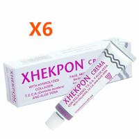 銀聯專享 : Xhekpon 膠原蛋白頸紋霜 40ml *6支