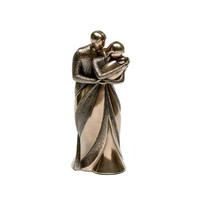 Genesis《夫妇与婴儿》铜雕