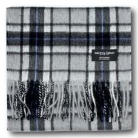 Gretna Green 格林小镇花岗岩方块条纹 羊绒围巾