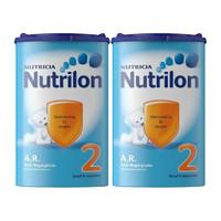 荷蘭Nutrilon 牛欄抗食物逆流特殊配方奶粉 2段 (1包800克) 6個月及以上寶寶 2罐裝