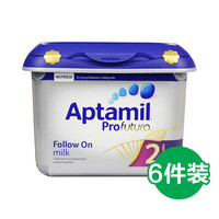 Aptamil 愛他美 Profutura 白金版 嬰幼兒奶粉 2段 800g*6罐