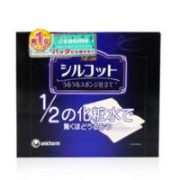unicharm 尤妮佳 Silcot省1/2化妆水化妆棉 40枚