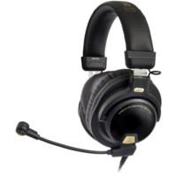 audio-technica 铁三角 ATH-PG1 头戴式专业游戏耳机 黑色