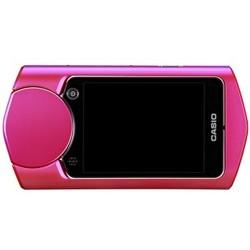 Casio 卡西欧 EX-TR550 数码相机 玫红色 (内含16G TF卡 1110万像素 21mm广角 3英寸屏 自拍神器)