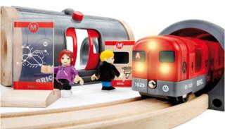 BRIO 33513 声光地铁车站套装