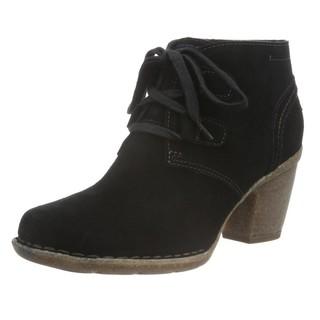 中亚Prime会员 : Clarks Carleta Lyon 女士真皮系带短靴