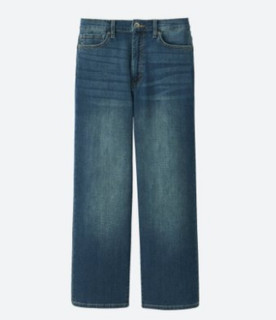 UNIQLO 优衣库 402703 女士七分牛仔裤
