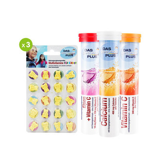 Das Gesunde Plus 儿童营养套装 6件