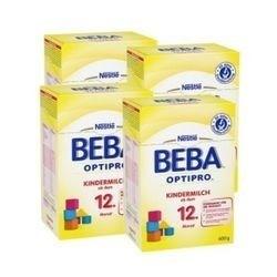 值友专享,淘金V计划 : Nestlé 雀巢 BEBA 贝巴 OptiPro系列 婴幼儿配方奶粉12+段 600g*4盒