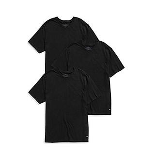 TOMMY HILFIGER 男士V领T恤 3件装