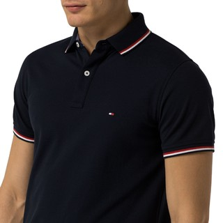TOMMY HILFIGER SLIM FIT TIPPED 男士POLO衫