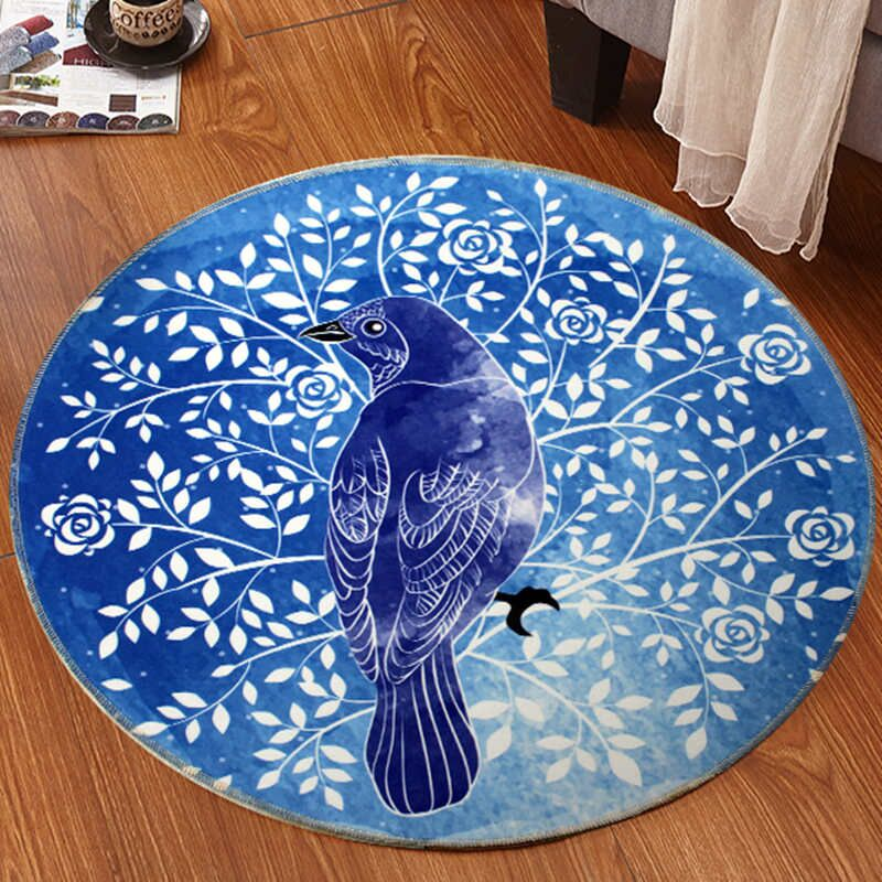 亚亨 可爱圆形地毯 直径60cm