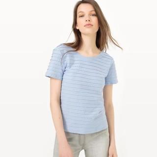 Mademoiselle R 扇贝花纹T恤