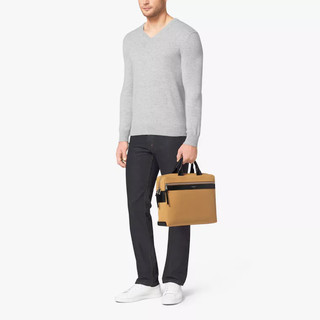 Michael Kors Grant Medium Canvas 男士帆布公文包