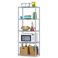 蜗家五层置物架方便实用厨房/浴室收纳架 储物层架Z5