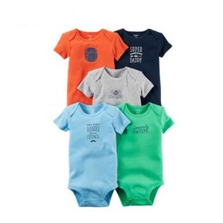Carter's 5件装短袖连体衣