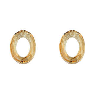 SWAROVSKI 施华洛世奇 1039120 双色组合耳环