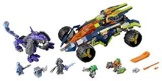 LEGO 乐高 未来骑士团系列 70355 阿隆的攀岩越野战车