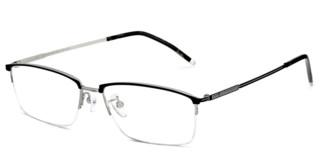 HAN 纯钛 光学眼镜架 HN42066L+1.56防蓝光镜片