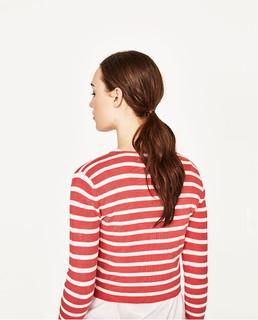 ZARA 02298006046 女士针织衫