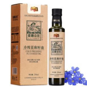 亚麻公社 纯亚麻籽油 250ml