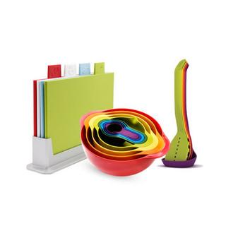 10点开始 : Joseph Joseph 经典彩虹烹饪 礼盒装三件套