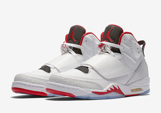 "AIR JORDAN SON OF MARS 火星之子 ""Fire Red"" 男款篮球鞋"