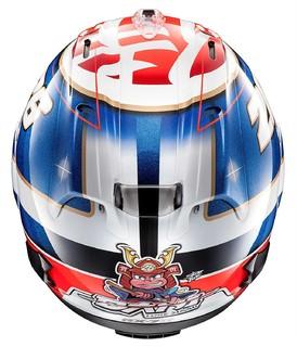 Arai RX-7X 全覆式头盔 Pedrosa武士涂装  55cm-56cm