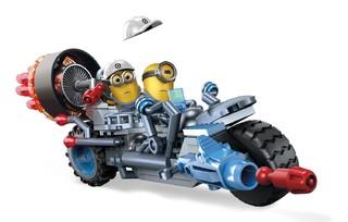 MEGA BLOKS 小黄人系列  DPG71 制造混乱的摩托车 160块