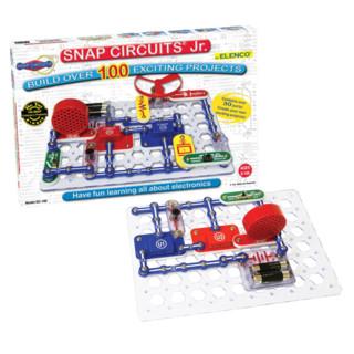 中亚Prime会员 : ELENCO 埃伦克 SNAP CIRCUITS Jr. SC-100 益智电路积木玩具 *2件