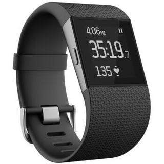 历史新低 : Fitbit Surge 智能运动手环 size S 黑色