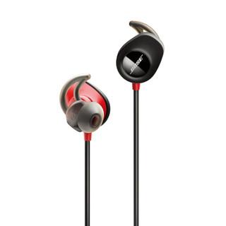 Bose SoundSport Pulse 无线蓝牙运动耳机-火红色 心率监测
