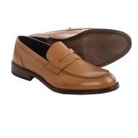 a.testoni 铁师东尼 BASIC Leather Penny 男士乐福鞋