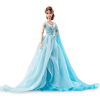 中亚prime会员 : Barbie 芭比 Fashion Model Collection 蓝色晚礼服款