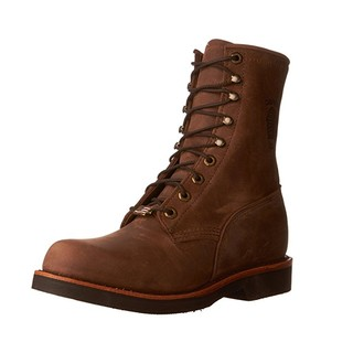 中亚Prime会员、限8EE码 : CHIPPEWA Rugged Handcrafted 男款工装靴