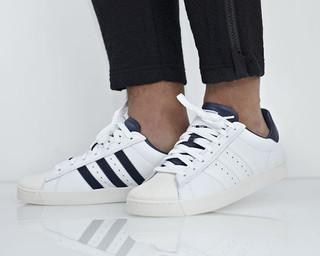 adidas 阿迪达斯 Superstar Vulc ADV 男款休闲运动鞋 B27395  43