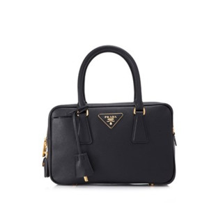 PRADA Saffiano Lux Galleria 女士真皮手提包
