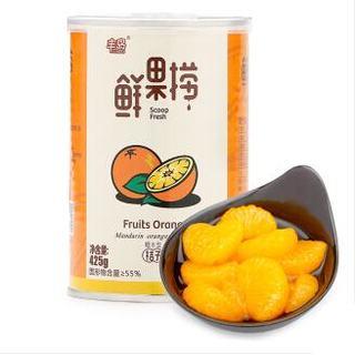 fomdas 丰岛 鲜果捞 糖水桔子味 425g