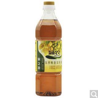 颍农 家之浓 压榨醇香菜籽油 900ml